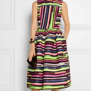 Authentic House of Holland Striped Jacquard Dress